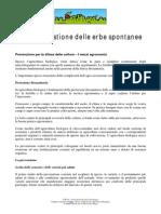 F.or .Tec . Difesa e Gestione Delle Erbe Spontanee
