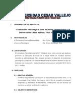 Proyecto de Ingresantes- 2013 - i Huaraz-1