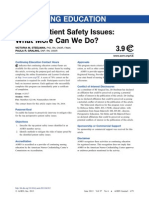 Top 10 Patient Safety Issues