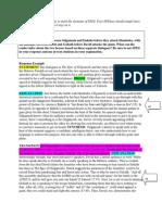 david and gilgamesh - comparison of speeches