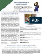 Profil de l'école 2013-2014
