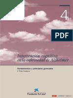 04 - Intervención cognitiva en la enfermedad de Alzheimer