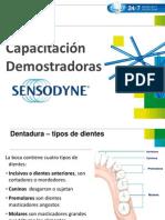 Capacitacion Completa Demos Sensodyne 2013 PDF