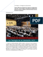 Mensaje del 33 Congreso de Teología