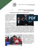 Se Publican Leyes Secundarias de La Reforma Educativa.
