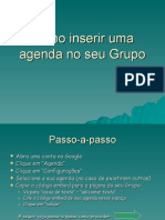 Como Inserir Uma Agenda No Seu Grupo