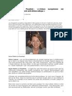 Anne-Marie Pourhiet L'Europe est antidémocratique
