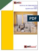 Manual de Cerramiento (Tableros)Electricos