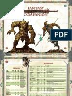 SW Fantasy Companion GM Inserts
