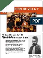 LA RELACIÓN DE VILLA Y ZAPATA (1)