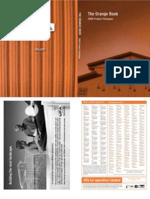 UFA Orange Book Complete | Business | Nature