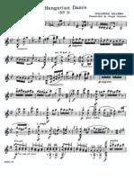 IMSLP42728-PMLP16016-Hungarian Dance n.5 Violin Part (1)