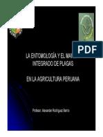 La Entomología y el Mip en la agricultura Peruana [Sólo lectura]