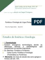 Estudos de Fonética e Fonologia