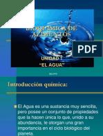 Bioquimica de Alimentos Agua