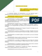 Resolução CFP nº 002-03 - sem anexo