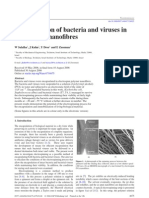 Bacteria & Virus Nano Fibres