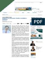 Coluna do William Douglas _ Angústia de concurseiro_ família, sociedade e desânimo _ Jornal dos Concursos