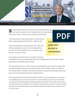 Goals Report -Bryan Tracy eBook