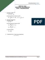 Module 12(a) - Progressions