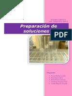 Preparacio de Soluciones