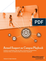 Armed Suspect Playbook
