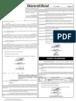 Decreto n° 1.399 de 16.10.12 - Anuencia retificação INTERMAT
