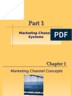 Marketing Channel Concepts; Introduction to Marketing Channel