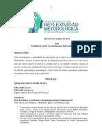 Programa Preliminar Encuentro Reflexividad 2013