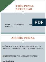 Accion Penal Particular
