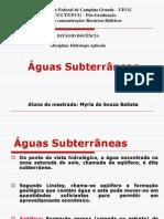 13aula Agua Subterranea