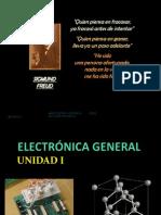 ELECTRÓNICA GENERAL UNIDAD 1  2012 - 2013