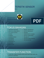 Karakteristik Sensor Final