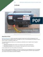 Electrical Engineering Portal.com Motors for Hazardous Areas