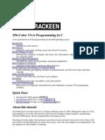 256-Color VGA Programming in C - 1996 - David Brackeen
