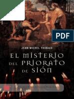 El Misterio Del Priorato de Sion - Jean-Michel Thibaux