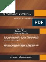 FULL FILÓSOFOS DE LA SOSPECHA