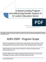 Sri Lanka Education Sector Development Program
