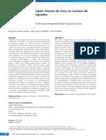 Influencia Dos Principais Fatores de Risco No Sucesso de Implantes Osseointegrados