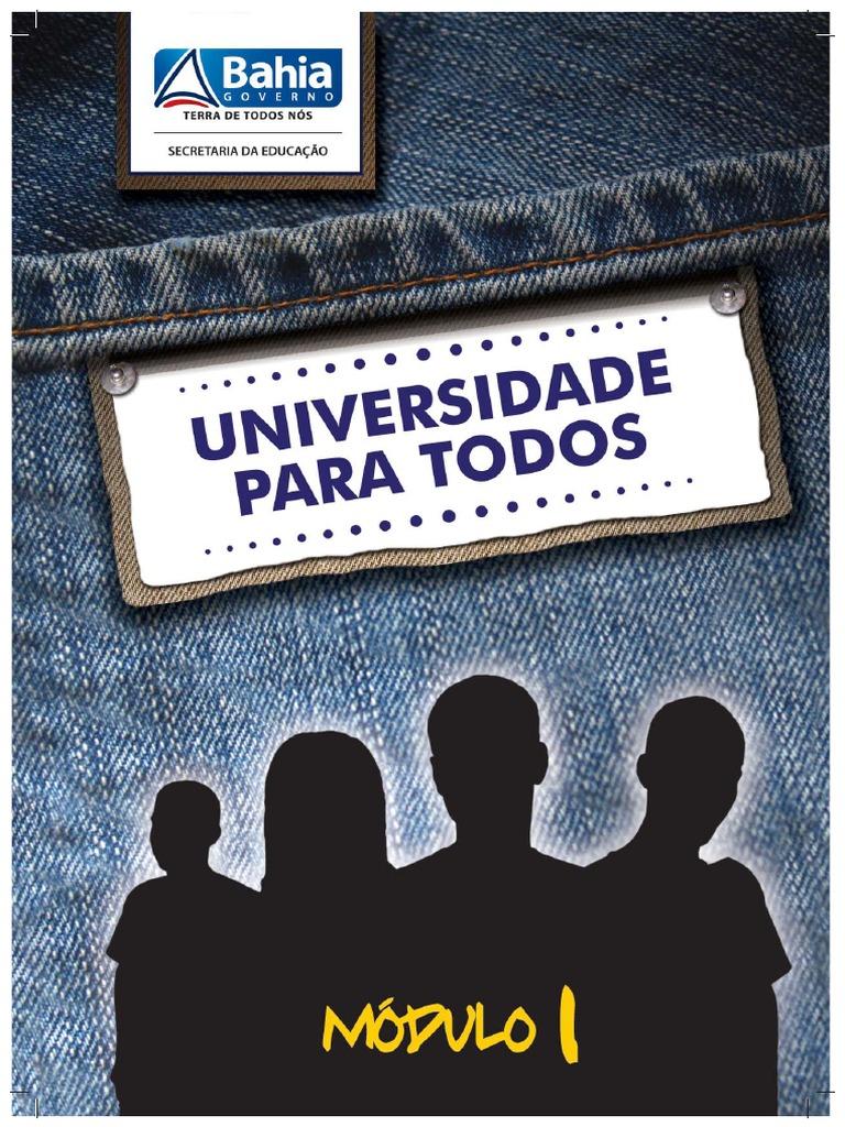 Mdulo i universidade para todos 2012 fandeluxe Choice Image