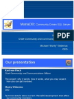 MariaDB 通信驱动服务器