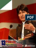13 Pilares Agenda Patriotica 2025