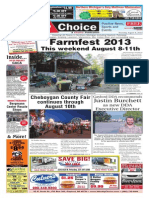 Weekly Choice - August 08, 2013