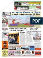 Weekly Choice - August 15, 2013