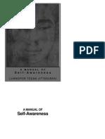 Manual of Self Awareness