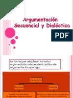 Argumentación secuencial y dialéctica. 3 H 2013