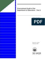 Hawaii Audit Doe Procurement 0209