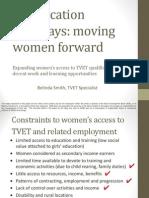 Moving Women Forward