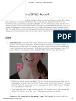 How to Speak in a British Accent_ 10 Steps (With Pictures)