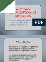 Medidas Estadisticas de Dispersion (1)